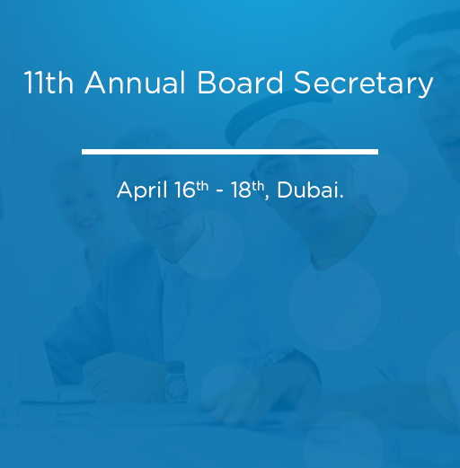 11th Annual Board Secretary
