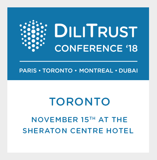 DiliTrust Conference 2018:  Canada Edition