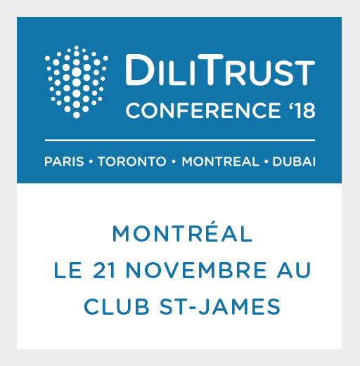Conférence Annuelle DiliTrust Canada 2018