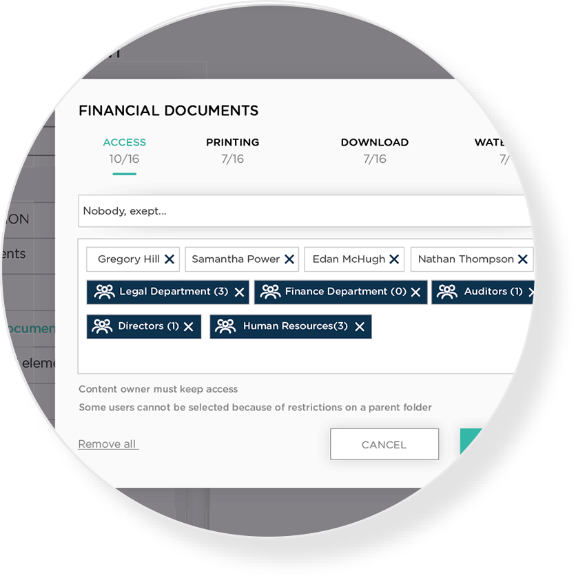 A CLEAR OVERVIEW OF ALL DOCUMENTS