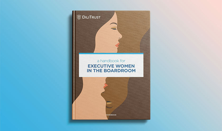 Book cover : Executive Women in the Boardroom