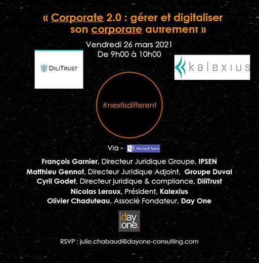 Webinar | Corporate 2.0 : gérer et digitaliser son corporate autrement